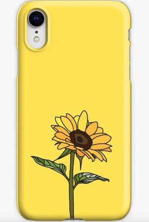 yellow phone case