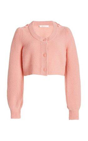 Branton Cropped Cashmere Cardigan By Loveshackfancy   Moda Operandi
