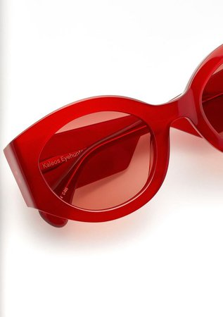 Kaleos Reed Sunglasses - Red | Garmentory