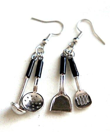 spoon earrings - Pesquisa Google