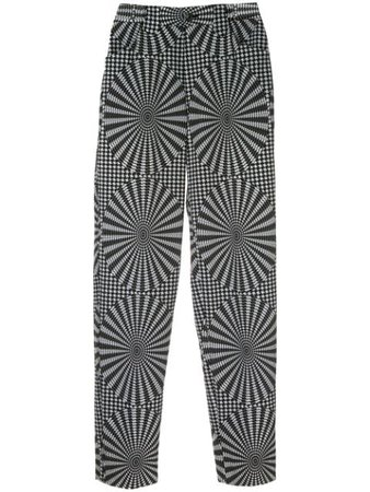 Issey Miyake Pre-Owned Optical Illusion Tailored Trousers - Farfetch