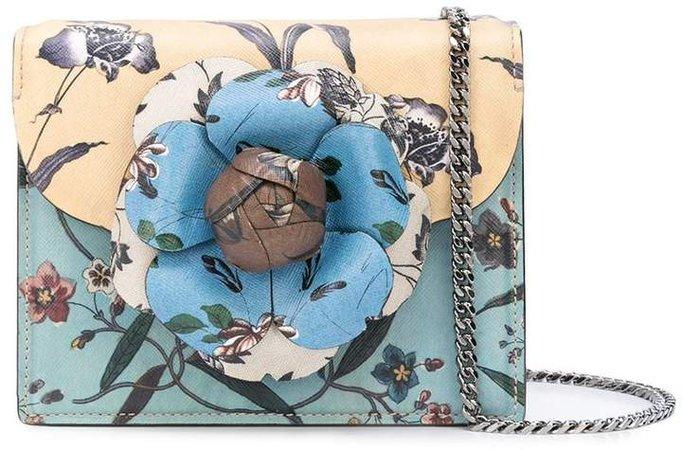 floral print mini Tro bag