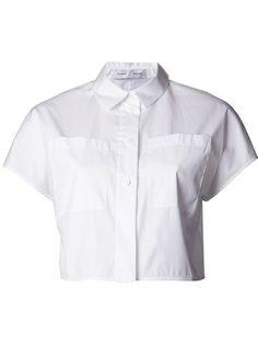 (5) white Crop top