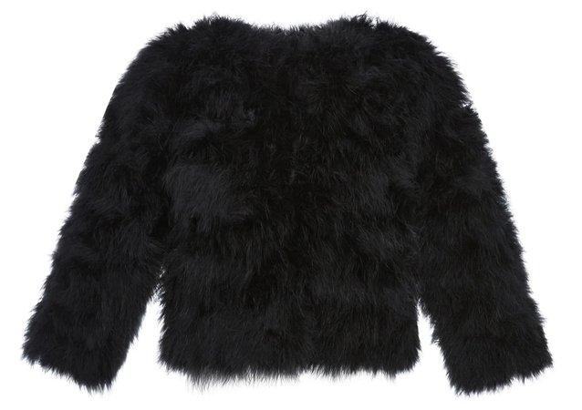 Ostrich Fur Jacket