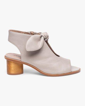 Luna Peep-Toe Sandal