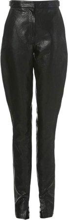 LVIR Faux-Leather Skinny Pants