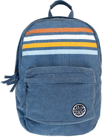 18L Stripe Canvas Backpack
