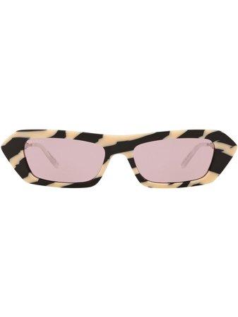 Gucci Eyewear GG0642S Solglasögon Med Rektangulära Bågar - Farfetch