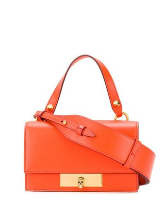Alexander McQueen Skull Lock Mini Bag - Farfetch