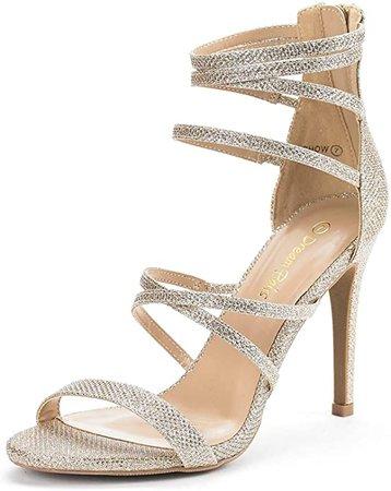 Amazon.com   DREAM PAIRS Women's Show High Heel Dress Pump Sandals   Heeled Sandals