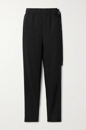 Christian Wool-blend Tapered Pants - Black
