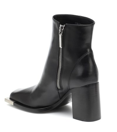 Peter Do - Leather ankle boots   Mytheresa