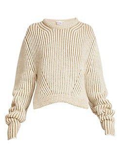 Chloe chunky ribbed sweater