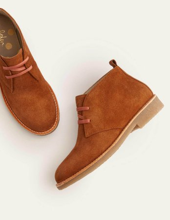 Cornwall Ankle Boots - Tan | Boden US