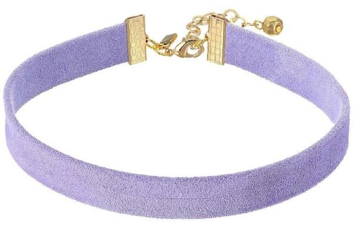 Lavender Choker