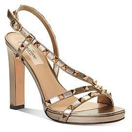 Women's Embellished Strappy High-Heel Sandals
