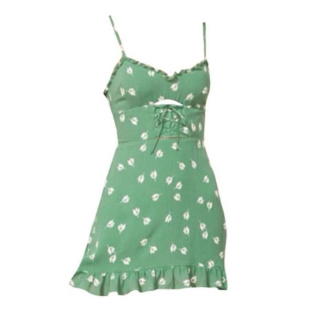 green dress png