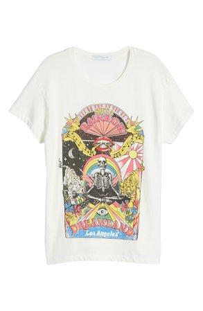 Daydreamer Rolling Stones She's a Rainbow Graphic Tee | Nordstrom