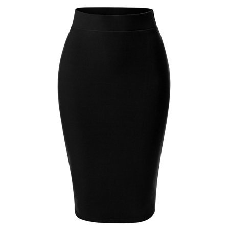Walmart Black Pencil Skirt