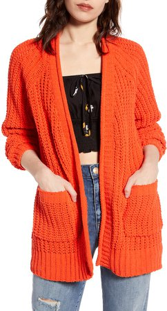 Warm Up Chenille Cardigan