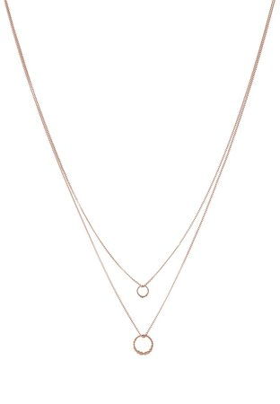 Pilgrim NECKLACE KYLIE - Necklace - rose gold-coloured - Zalando.co.uk