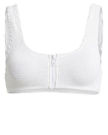 Sloane Zip Bikini Top