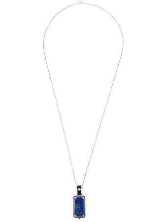 Stephen Webster dog tag pendant necklace - FARFETCH