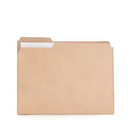 Leather Manila Folder | Graf Lantz | AHAlife