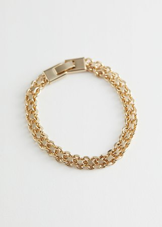 Chunky Rope Chain Bracelet - Gold - Bracelets - & Other Stories