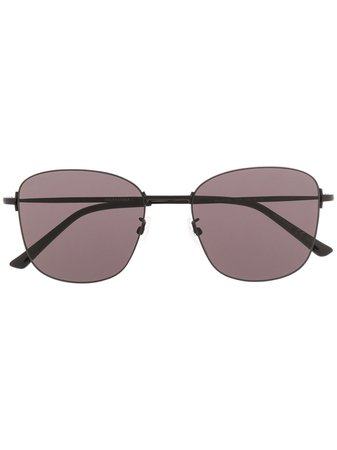 Balenciaga Eyewear Invisible square-framed Sunglasses - Farfetch