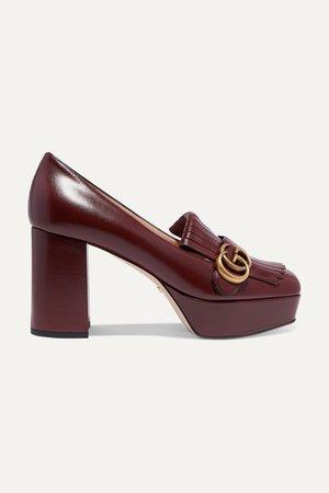 Shoes | leather pumps | NET-A-PORTER