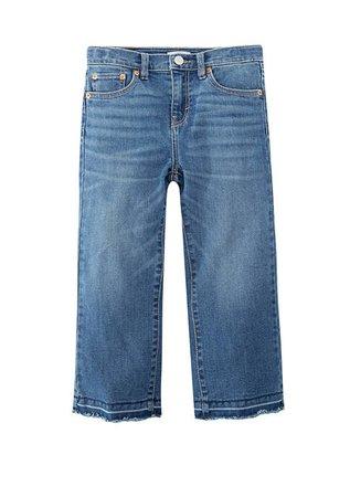 Levi's® Girls 7-16 Cropped Wide Leg Jeans | belk