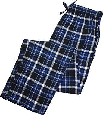 Blue Plaid Pajama Pants