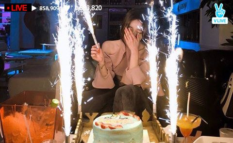 Bora Birthday VLive