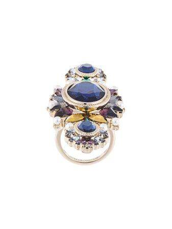 Marchesa Regal Affair Cluster Ring - Farfetch