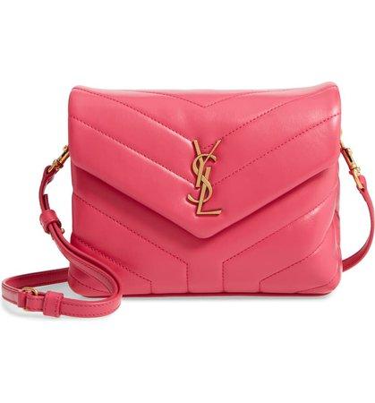 Saint Laurent Toy Loulou Matelassé Leather Crossbody Bag | Nordstrom
