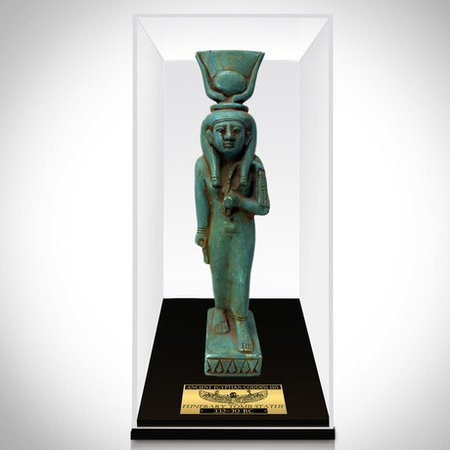 Ancient Egyptian Authentic Painted Goddess Isis Ushabti Tomb Statue // Museum Display - RARE-T - Touch of Modern