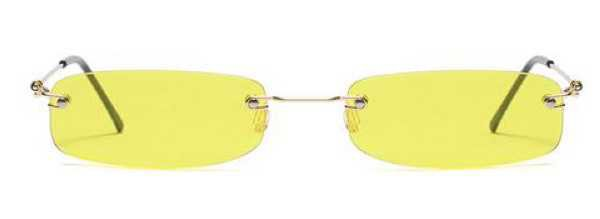 a&a the label yellow sunglasses