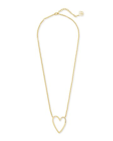 Ansley Heart Pendant Necklace | Kendra Scott