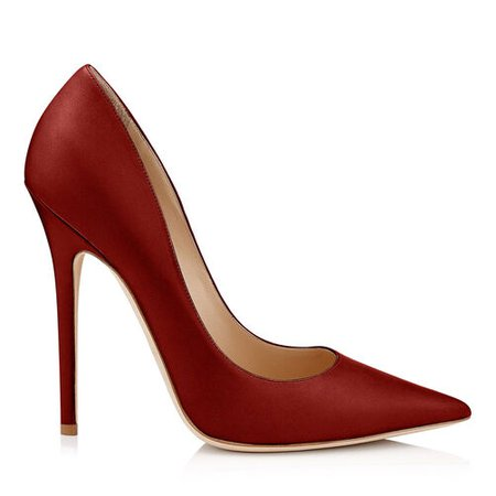 Made-to-Order ANOUK HEEL120MM AND RED KID LEATHER PUMPS