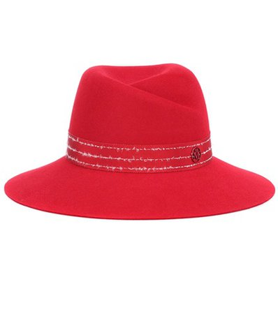 Virginie rabbit-felt fedora