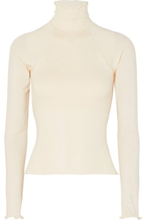 The Line By K | Margaux open-back stretch-jersey top | NET-A-PORTER.COM