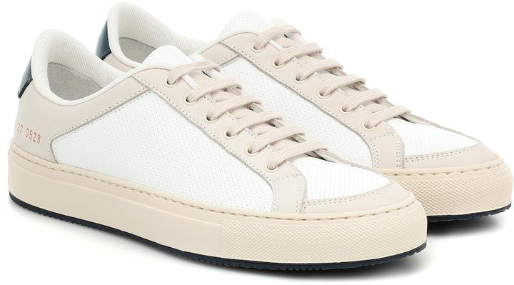 Retro Low 70's leather sneakers