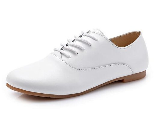 Women Oxford Flats Shoes