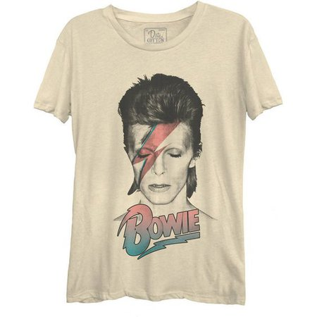 David Bowie Aladdin Sane Pastel Casual Tee