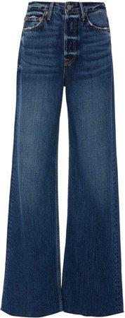 Denim Denim Carla High-Rise Flared Jeans