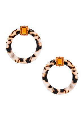 Nathalie Hoop Earrings