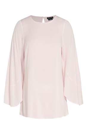 City Chic Romance Me Split Bell Sleeve Top (Plus Size) | Nordstrom