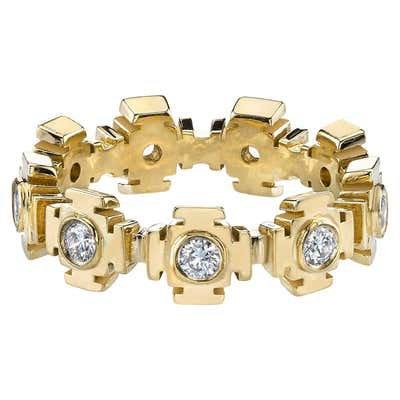 Diamond Eternity Gold Ring