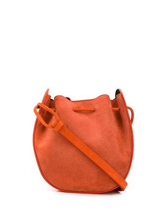Orange Rebecca Minkoff crossbody bucket bag - Farfetch